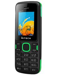 Hitech Yuva Y1  Dual Sim Mobile - Black & Green