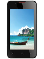 Intex Aqua A2 Android Kitkat, Quad Core processor 3G Smartphone - Black