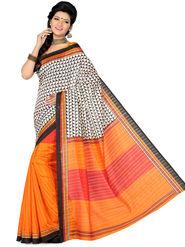 Ishin Bhagalpuri Silk Printed Saree - Multicolor - ISHIN-1778