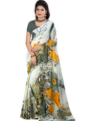 Arisha Georgette Printed Saree -Khgsstar216
