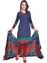 Khushali Fashion Crepe Printed Dress Material -Kpplk10011