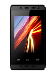Karbonn Alfa A104 2.8-Inch 2G Android Smartphone - Black