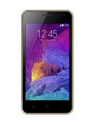 Adcom Kitkat A-47 Quad Core processor with Free Screen Guard - Golden