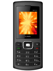 Lava Arc 112 Dual Sim Phone - Grey & Black