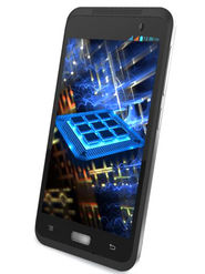 Lava Iris Fuel 10 Android Lollipop Update, Quad Core processor with 1 GB RAM and  8 GB ROM 3G Smartphone - Black
