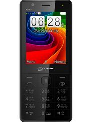 Micromax X2401 Dual Sim Phone - Black