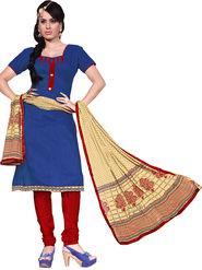 Khushali Fashion Chanderi Self Dress Material -Ncekl1008