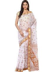 Branded Cotton Gadwal Sarees -Pcsrsd77
