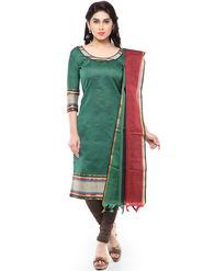 Florence Plain Poly Cotton Unstitched Dress Material -SB-3261