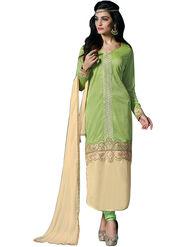 Thankar Semi Stitched  Heavy Laycra Embroidery Dress Material Tas274-23002