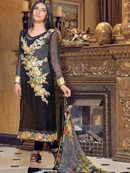 Thankar Semi Stitched  Georgette Embroidery Dress Material Tas279-2022