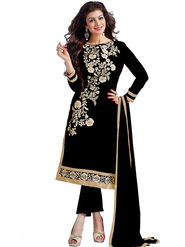 Thankar Semi Stitched  Chanderi Cotton Embroidery Dress Material Tas290-5307C