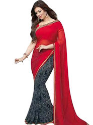 Thankar Embroidered Georgette Saree -Tds132-16654
