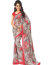 Thankar Printed Georgette Designer Saree -Tds152-7317