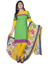 Triveni's Crape Printed Dress Material -TSLCSK9108