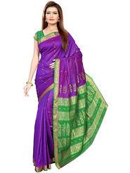Triveni's Art Silk Zari Worked Saree -TSMRCC3001