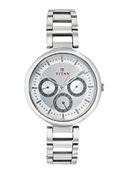 Titan Wrist Watch for Women - Silver_12339972