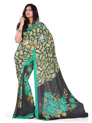 Variation Georgette Printed Saree -VD16423