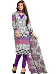 Khushali Fashion Silk Printed Unstitched Dress Material -VRIS21022