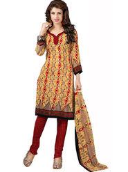 Khushali Fashion Silk Printed Unstitched Dress Material -VSPKV24428