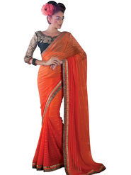 Viva N Diva Georgette Embroidered Saree Vanisha-2158