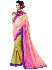 Nanda Silk Mills Fancy Print &Georgette  Party Wear Saree_WOMANIYA-3808