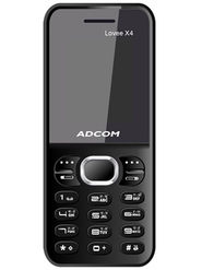 Adcom Lovee X4 Dual Sim Phone - Blue