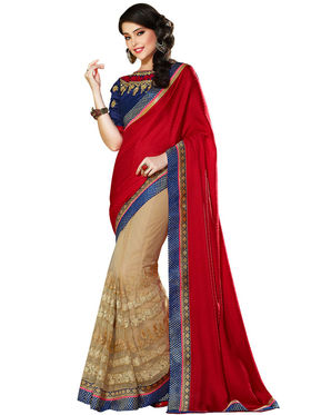Nanda Silk Mills Designer Fancy Exclusive Saree_Vr-1411