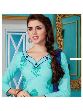 Viva N Diva Emroidered Unstiched Cotton Dress Material_11130-Elifa