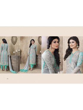 Viva N Diva Emroidered Unstiched  Dress Material_11287-Shruti