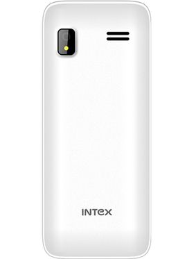 Intex Mega 510 Dual SIM Mobile Phone - White & Black
