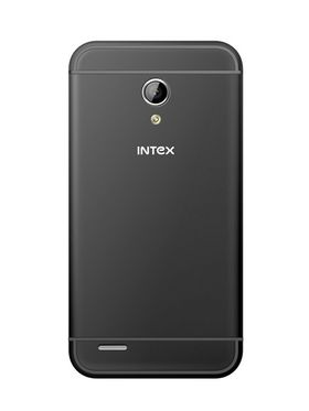 Intex Aqua 3G+ - Dual SIM/ 4 inch Display/ Android 4.4 Kitkat/ Dual Camera - Grey