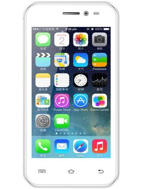 Intex Aqua 3G+ - Dual SIM/ 4 inch Display/ Android 4.4 Kitkat/ Dual Camera - White