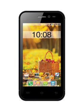 Intex Aqua V 3G Android Kitkat Smartphone - Black