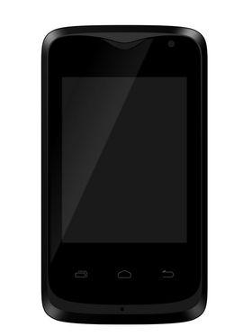 Intex Aqua R2 Smart Mobile Phone - Silver & Black