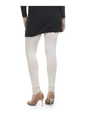 Combo Of 6 Lavennder Cotton Lycra Solid Legging_CNLEG-2904-3