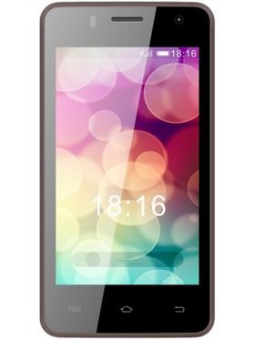 Intex Aqua Y2 IPS Android Kitkat 3G Smartphone - Brown & Champagne