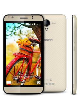 Karbonn Titanium MACH-5 5 Inch Android Lollipop ( RAM : 2GB ROM : 16 GB ) - Champagne
