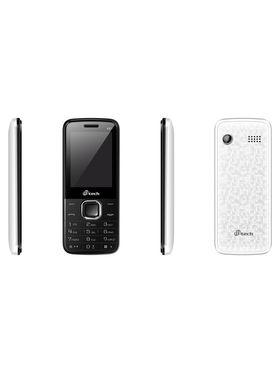 Mtech V2+ Dual Sim Feature Phone - White