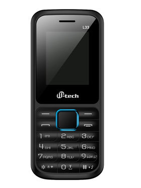 Mtech L33 Dual Sim Feature Phone - Black & Blue