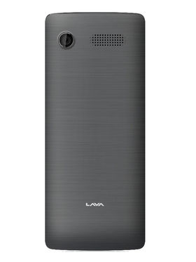 Lava KKT Mega 2.8 Inch Dual Sim - Black & Grey
