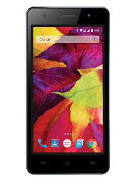 Lava P7 5 Inch Android 3G Smartphone - Blue & Black
