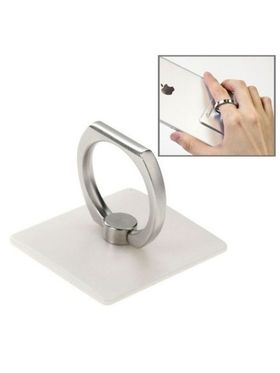 Aeoss Universal Rotatable Ring Mobile Holder Car Hanging for Smart Phone White