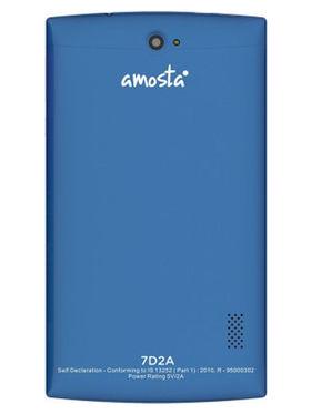 AMOSTA 7D2A Kitkat calling Tablet ( ROM : 4GB , Wi-Fi + 3G ) - Blue