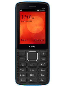 Lava KKT ULTRA PLUS 2.4 Inch Dual SIM Mobile Phone - Black Blue