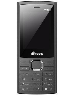 Mtech M15 PRO Dual Sim Feature Phone - Grey