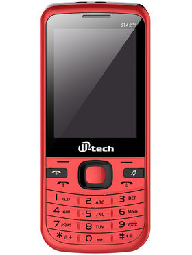 Mtech STAR++ Dual Sim Feature Phone - Red