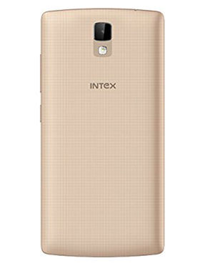 Intex Aqua Craze 5 Inch Quad Core Lollipop 4G Smartphone (RAM:1GB ROM:8GB) - Champagne