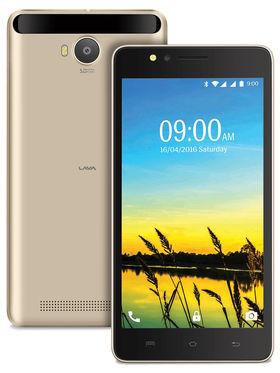 Lava A79 Lollipop 5.1 Quad Core Smart Phone (RAM:1GB ROM:8GB ) Gold