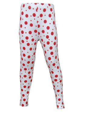 Pack of 2 Little Star Girl's Multicolor Leggings - FW_3214